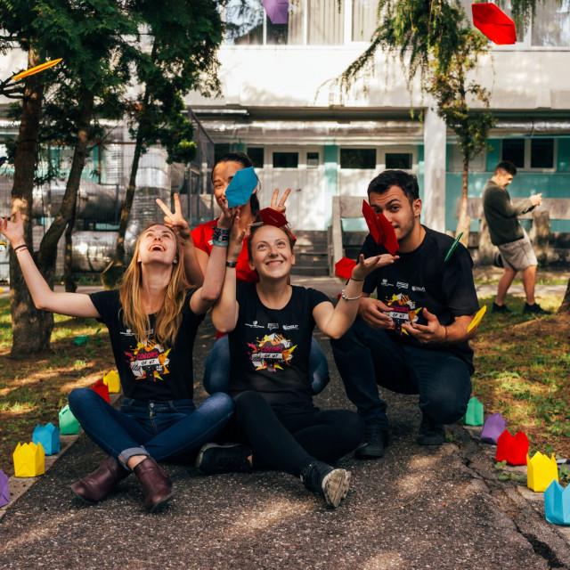 Guerrilla Marketing sur les Campus