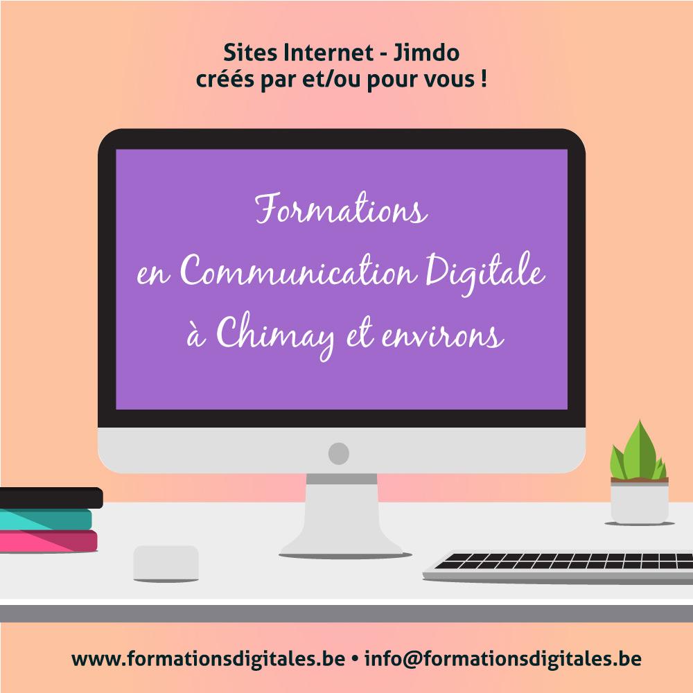 Site Internet JIMDO - Formation de 2 jours