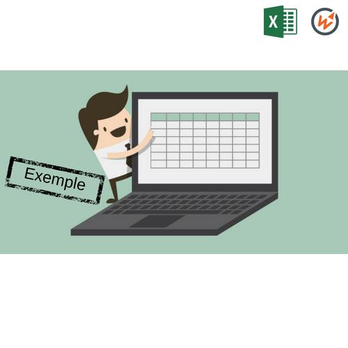 Tableau de suivi du budget des ventes [exemple - Excel]