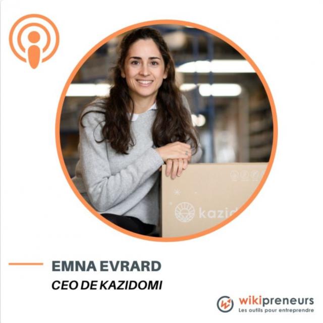 Episode 1 - Kazidomi - d'étudiante à entrepreneure qui révolutionne le monde du bio